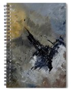 Abstract 88111102 Spiral Notebook