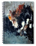 Abstract 8811114 Spiral Notebook