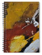 Abstract 88119011 Spiral Notebook