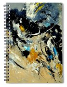 Abstract 8821011 Spiral Notebook