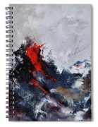 Abstract 8821013 Spiral Notebook
