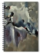 Abstract 8821205 Spiral Notebook