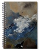 Abstract 8821206 Spiral Notebook