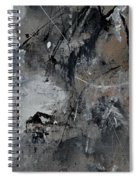 Abstract 961111 Spiral Notebook