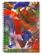 Abstract - Acrylic - Synthesis Spiral Notebook