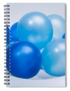 Abstract Balloon Spiral Notebook