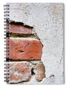 Abstract Brick Wall II Spiral Notebook