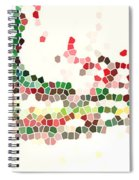 Abstract Celebration Spiral Notebook