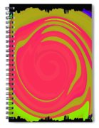 Abstract Color Merge Spiral Notebook