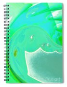 Abstract Down By The Sea  Spiral Notebook