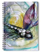 Abstract Dragonfly 11 Spiral Notebook