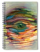 Abstract Eye Spiral Notebook