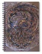 Abstract Flood Spiral Notebook