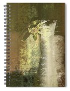 Abstract Floral 04v2g Spiral Notebook