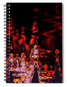 Abstract Fractals 1 Spiral Notebook