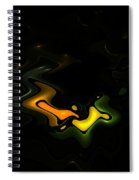 Abstract Fractals Lovers Spiral Notebook