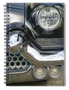 Abstract Front End Spiral Notebook