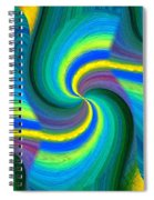 Abstract Fusion 108 Spiral Notebook