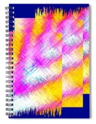 Abstract Fusion 127 Spiral Notebook