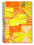 Abstract Fusion 14 Spiral Notebook