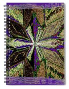 Abstract Fusion 145 Spiral Notebook