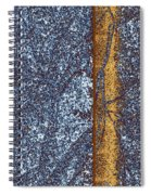 Abstract Fusion 152 Spiral Notebook