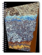 Abstract Fusion 153 Spiral Notebook