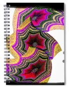 Abstract Fusion 154 Spiral Notebook