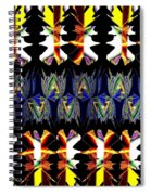 Abstract Fusion 156  Spiral Notebook