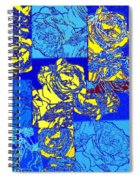 Abstract Fusion 22 Spiral Notebook