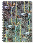 Abstract Fusion 3 Spiral Notebook