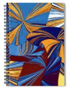 Abstract Fusion 34 Spiral Notebook