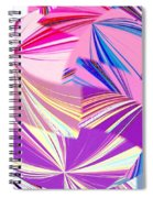 Abstract Fusion 41 Spiral Notebook