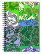 Abstract Fusion 42 Spiral Notebook