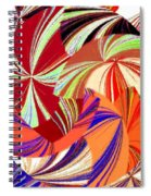 Abstract Fusion 56 Spiral Notebook