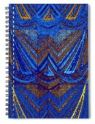 Abstract Fusion 59 Spiral Notebook