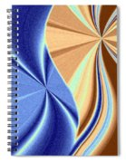 Abstract Fusion 66 Spiral Notebook