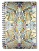 Abstract Fusion 67 Spiral Notebook