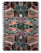Abstract Fusion 68 Spiral Notebook