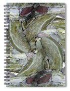 Abstract Fusion 70 Spiral Notebook