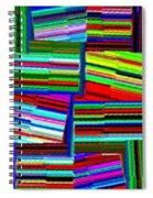 Abstract Fusion 77 Spiral Notebook