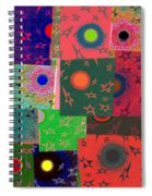 Abstract Fusion 79 Spiral Notebook