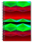 Abstract Fusion 83 Spiral Notebook