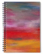 Abstract - Guash And Acrylic - Pleasant Dreams Spiral Notebook