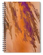 Abstract In July Spiral Notebook