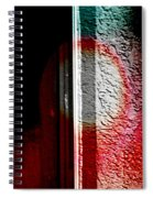 Abstract In The Rain Spiral Notebook