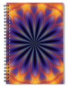 Abstract Kaleidoscope Spiral Notebook