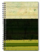 Abstract Landscape - The Highway Series Ll Spiral Notebook