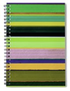 Abstract Landscape - The Highway Series Lll Spiral Notebook