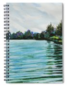Abstract Landscape 5 Spiral Notebook